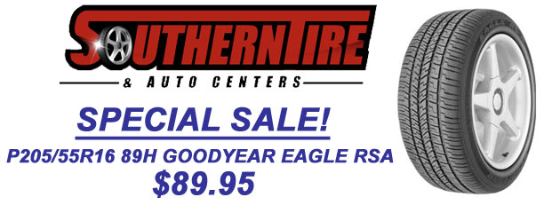 Goodyear Eagle Special Sale