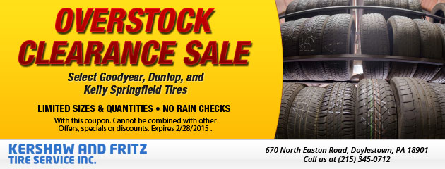 Overstock Clearance Sale