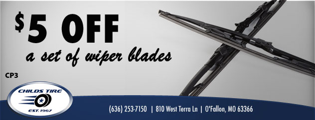 $5.00 Of A Set of Wiper Blades