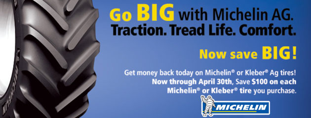 Michelin AG Save $100