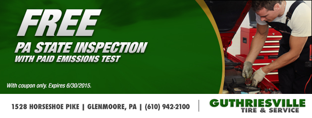 Free PA State Inspection