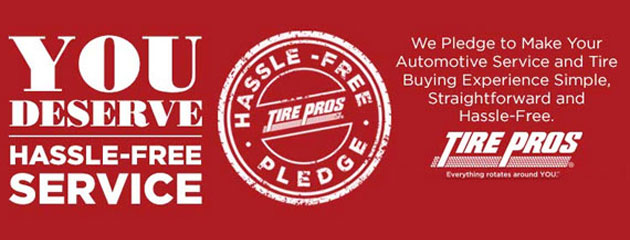 Tire Pros Hassle Free Service
