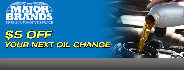 $5 Off Next Oil Change
