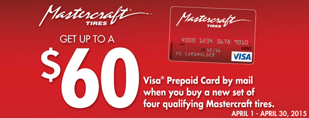 Mastercraft up to $60 Rebate
