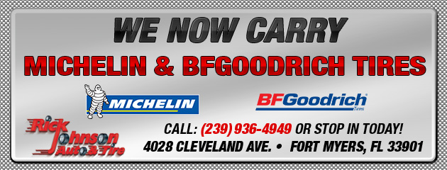 We Now Carry BFG and Michelin