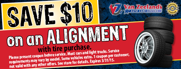 Save $10 On An Alignment