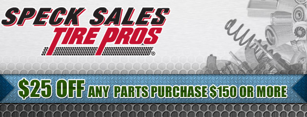 $25 Off Any Parts Purchase $150 or More