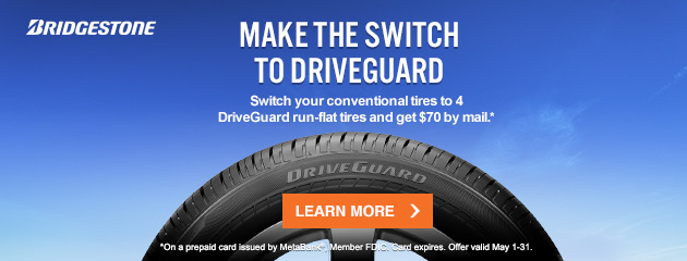 Bridgestone Driveguard $70 Reward