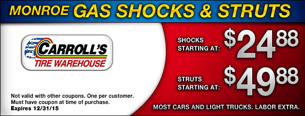 Monroe Gas Shocks & Struts