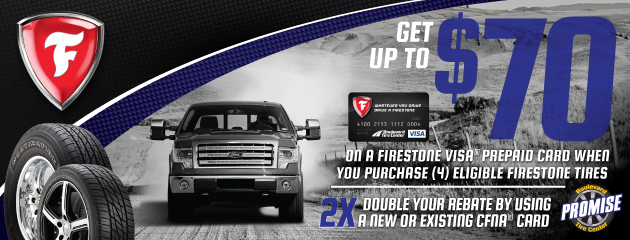 Firestone $70 Rebate