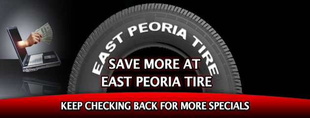 East  Peoria Tire_Coupon Specials