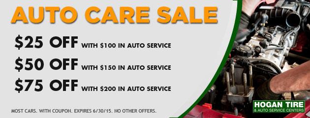 Auto Care Sale