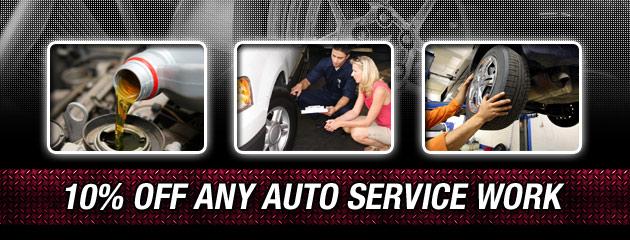 10 Percent Off Any Auto Service