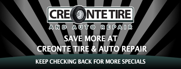 Creonte Tire & Auto_Coupon Specials