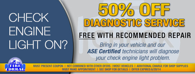 50% Off Diagnostic Service