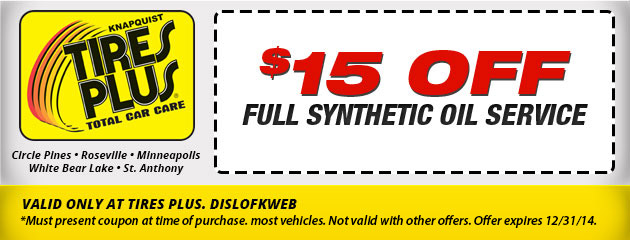 Full Synthetic Oil Service
