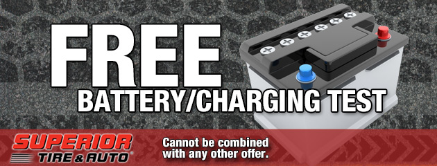 Free Battery Charging System Check