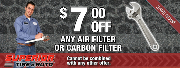 $7 Off Air Filters or Carbon Filters