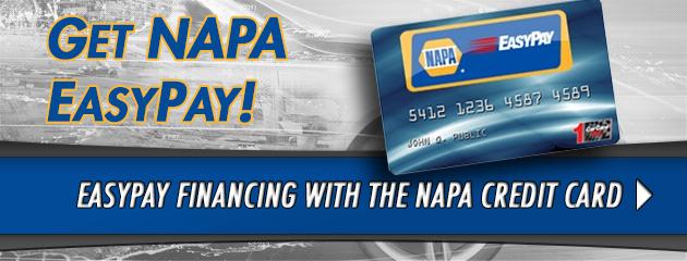 Get Napa EasyPay Credit Card
