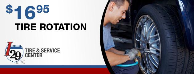 $16.95 Tire Rotation