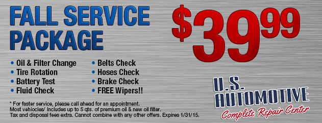$39.95 Fall Service Package