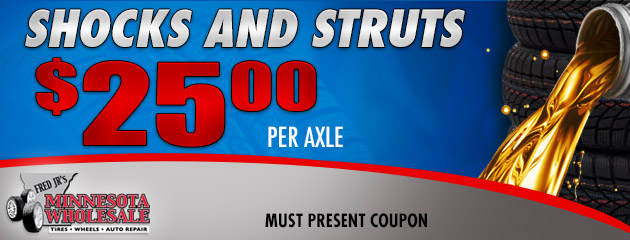 $35 Off Shocks & Struts