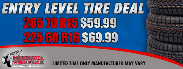 Entry Level Tire Deal