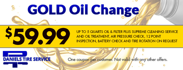 Gold Oil Change