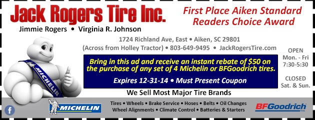 Michelin & BFGoodrich Rebate