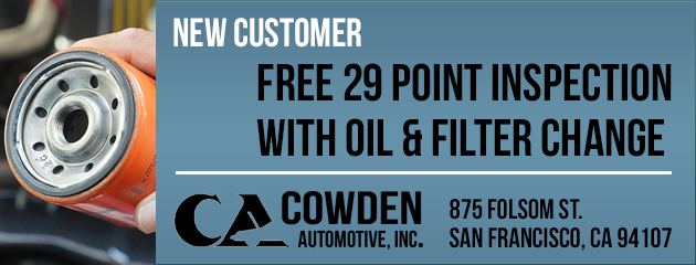 New Customer Free 29 point inspection with Oil & Filter Change