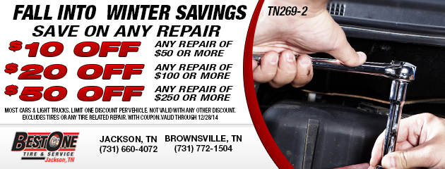 Fall Save On Any Repair