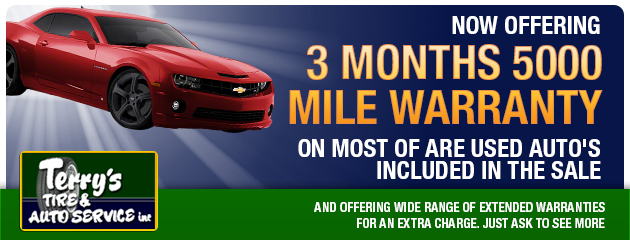 Now offering 3months 5000 mile warranty
