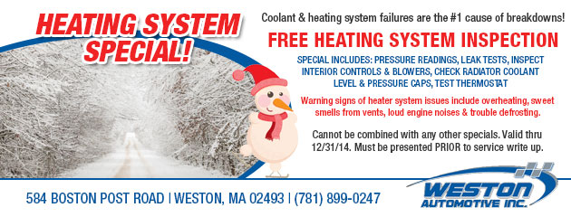 Heating System Special