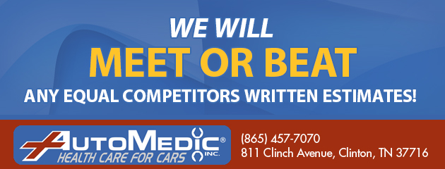 We will meet or beat any equal competitors written estimates!
