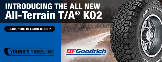 Introducing the All New All-Terrain T/A® KO2