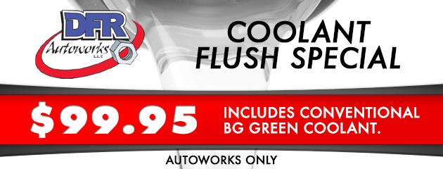 Autoworks Coolant Flush Special
