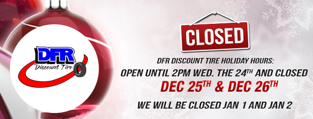 Discount Tire Holiday Hours