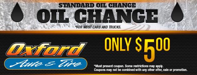 Standard Oil Change