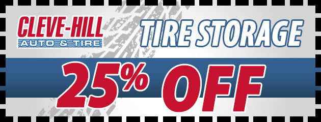 25% Off Tire Storage