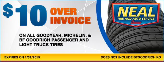 $10 over invoice sale