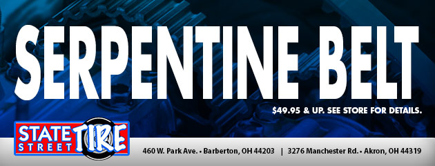 Serpentine Belt $49.95 & Up