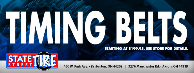 Timing Belts Starting At $199.95