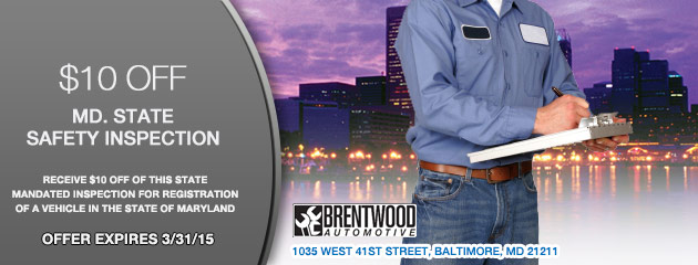 $10 OFF MD Inspection