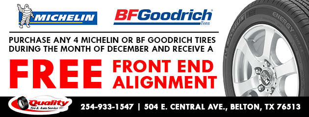 Free front end alignment