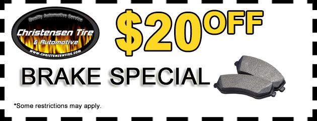 $20 Off Brake Special