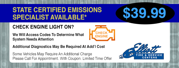 State Certified Emissions - Check Engine