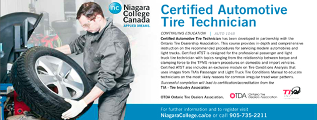 Niagra College - Certified Automotive Tire Technician