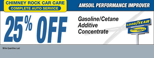 25% OFF AMSOIL PERFORMANCE IMPROVER