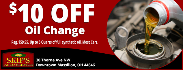 $10 Off Full Oil Change
