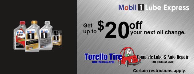 Mobil 1 Oil Change